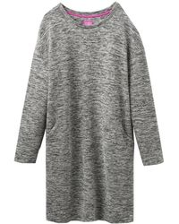 Joules - Ellie Textured Jersey Dress (v) - Lyst