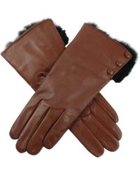 Dents - Sophie Hairsheep Ladies Leather Glove - Lyst
