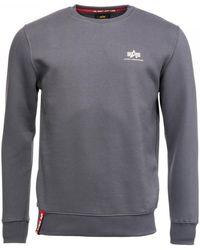 Alpha Industries - Basic Mens Sweater Small Logo - Lyst