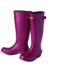 Barbour - Jarrow Ladies Wellington Boots - Lyst