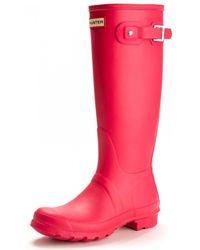 HUNTER - Original Tall Ladies Wellington Boots - Lyst