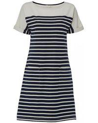 White Stuff - Kora Stripe Womens Dress - Lyst
