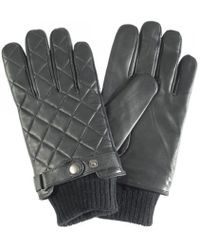 Barbour - Quilted Leather Glove - Lyst