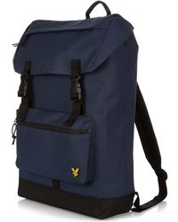 04a75f1435 Lyst - Tommy Hilfiger Mens Navy Blue And Red Canvas Backpack in Blue ...