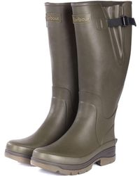 Barbour Hail Mens Wellingtons - Green