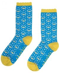 Seasalt - Womens Floral Feet Socks (ss17) - Lyst