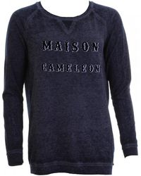 Maison Scotch - Burnout Womens Sweat - Lyst