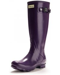HUNTER - Norris Field Gloss Ladies Boot - Lyst
