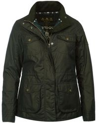 Barbour Rhossili Womens Wax Jacket - Multicolour
