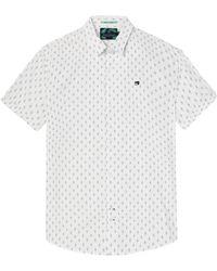 Scotch & Soda - Classic Shortsleeve Mens Shirt - Lyst