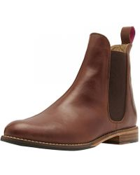 Joules - Westbourne Leather Ladies Chelsea Boot (v) - Lyst