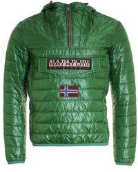 Napapijri - Quilted Rainbow Jacket - Lyst