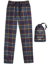 Joules - Sleeper Check Woven Mens Lounge Trouser (z) - Lyst