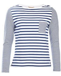 Barbour - Barnacle Stripe Jersey Top - Lyst