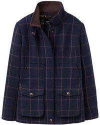 Joules - Fieldcoat Tweed Womens Jacket (x) - Lyst