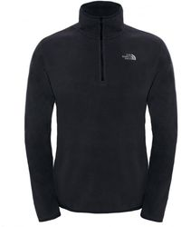 The North Face - 100 Glacier 1/4 Zip Mens Fleece - Lyst