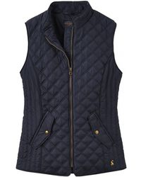 Joules - Minx Womens Quilted Gilet S/s - Lyst