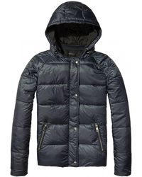 Maison Scotch - Reversible Sporty Womens Padded Jacket - Lyst