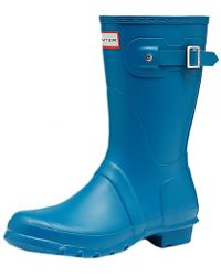 Hunter   Original Short Ladies Wellington Boots   Lyst