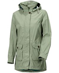 Didriksons Cotton Angelina Ladies Parka in Navy (Blue) Lyst