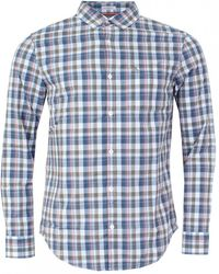 Original Penguin - P55 Madras Check Mens Shirt - Lyst