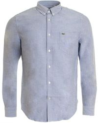 Lacoste - Mens Woven Shirt (ch2286-00) - Lyst
