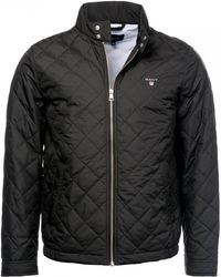 GANT - O1. The Quilted Windcheater Mens Jacket - Lyst