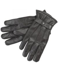 Barbour - Gloves Burnished Leather Thinsulate - Lyst