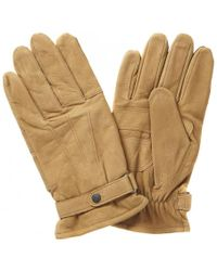 Barbour | Leather Thinsulate Gloves | Lyst