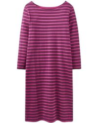 Joules - Riviera 3/4 Sleeve Striped Womens Dress (z) - Lyst