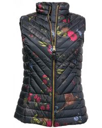 Joules Brindley Printed Upfill Womens Gilet (z)