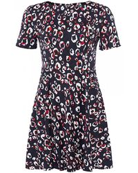 French Connection - Chira Stretch Ss Dress - Lyst