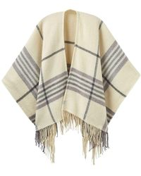 Joules - Innis Classic Wrap Ladies Scarf (v) - Lyst