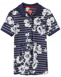 Joules - Trinity Printed Womens Polo (x) - Lyst