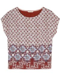 White Stuff - Hennie Floral Womens Jersey Tee - Lyst