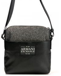 5a26eb0f49ac Armani Exchange - Armani Mens Mans Small Crossbod - Lyst