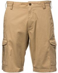 d320d9143f GANT Cargo Shorts with Canvas Belt in Natural for Men - Lyst