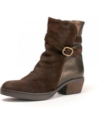 Fly London - Cimp269fly (expresso/bronze Oil Suede/adraga) Shoes - Lyst