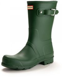 HUNTER - Original Mens Short Wellingtons - Lyst