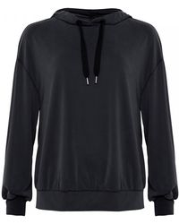 French Connection - Washed Cupro Womens Jersey Hoodie - Lyst