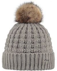 502eafe6fc045 Barts Fur Cable Bandhat in Brown - Lyst
