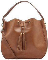 Joules - Beau Leather Hobo Womens Bag (x) - Lyst