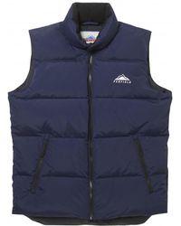 Penfield Washburn Mens Vest - Blue