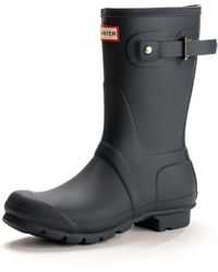 HUNTER - Original Short Ladies Wellington Boots - Lyst
