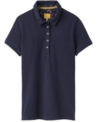 d1166f8d Lyst - Joules Pippa Plain Polo Shirt (french Navy) Women's Clothing ...