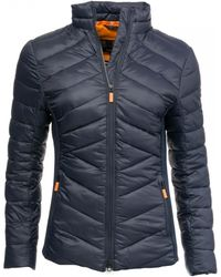 Barbour - Longshore Quilted Womens Jacket - Lyst