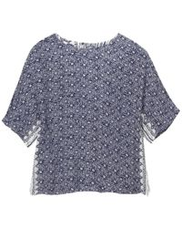 White Stuff - Poetry Patch Womens Top - Lyst