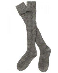 Barbour - Tweed Gun Stockings - Lyst