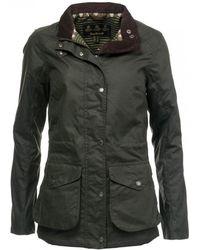 Barbour - Fleetwood Wax Womens Jacket - Lyst