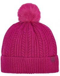 56f65168b Cable Bobble Hat (z)